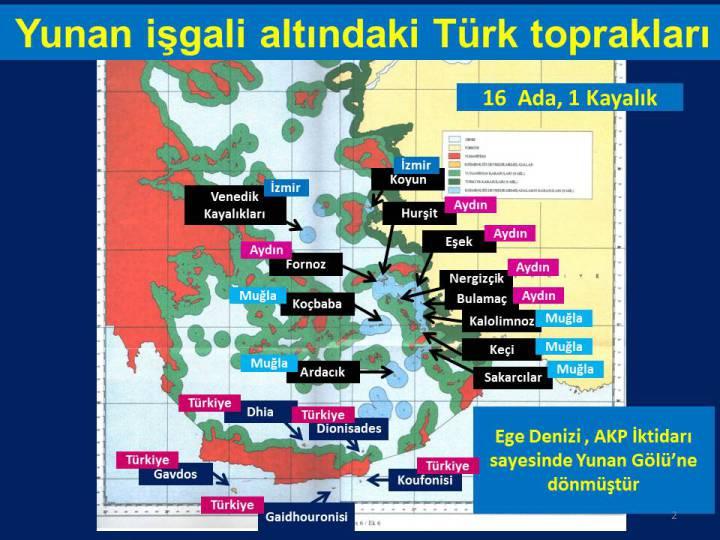 akp döneminde egede     yunanistan tarafından işgal edilen adalar harita ile ilgili görsel sonucu