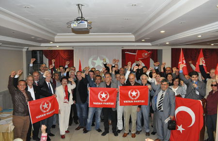 Vatan Partisi Antalya Aday Adayı Tanıtım Toplantısı