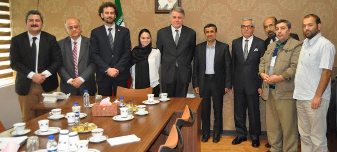 Diplomatic visit of the Patriotic Party to Iran