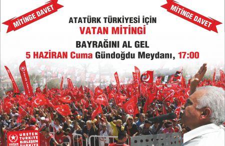 Doğu Perinçek İzmir'de!