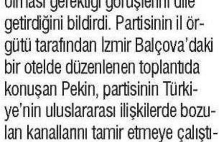 1 Şubat 2016 Yeniçağ Gazetesi