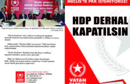 HDP Derhal Kapatılsın