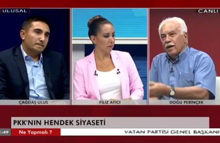 Doğu Perinçek, Gazetecilerin Sorularını Yanıtladı