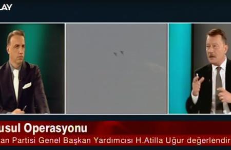 Hasan Atilla Uğur, Olay TV'ye Konuk Oldu
