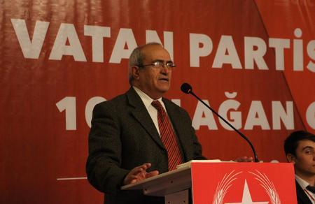 """Mehmet Bedri Gültekin: """"Vatan Partisi sürece önderlik eden partidir"""""""