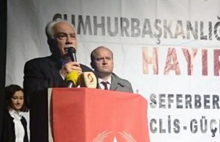 """Doğu Perinçek: """"Başkanlık AKP'ye de tuzak!"""""""