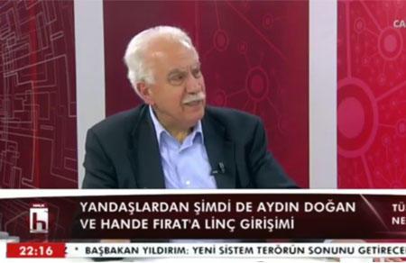 Doğu Perinçek Halk TV'de