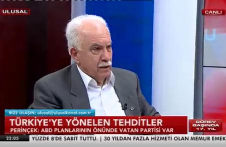 Doğu Perinçek: Ankara, Şam ile masaya oturacak