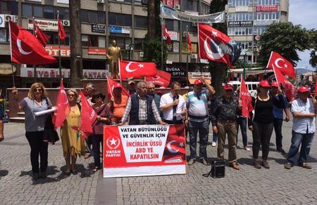 """""""İncirlik Üssü Türkiye'nin bağrına sokulmuş bir hançerdir"""""""