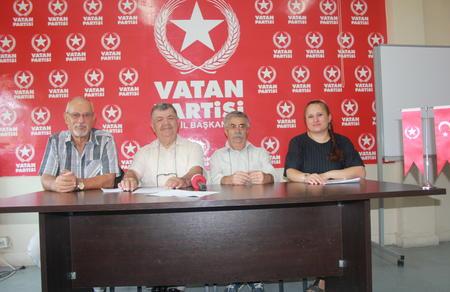 """Vatan Partisi Çiftçi Bürosu: """"Tarımda ithalat dışa bağımlılığa yol açar"""""""