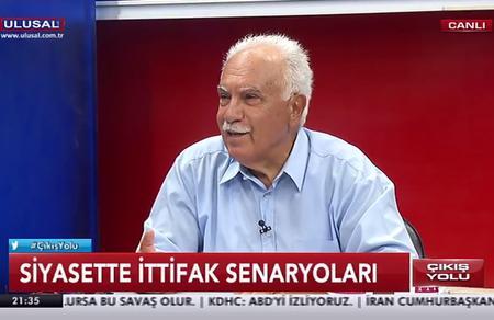 """Doğu Perinçek: """"Türkiye, Erdoğan ile Akşener'e mahkum edilemez"""""""