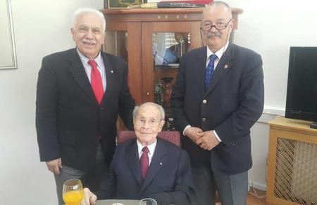 Eskişehir İl Başkanlığımız, Firuz Kanatlı'nın cenazesine katıldı