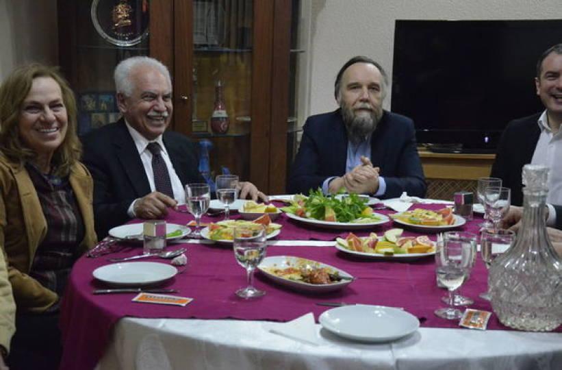Dugin ve Perinçek, 90'lardan beri görüşüyor