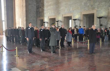 Ankara İl Başkanlığımızdan Anıtkabir'e ziyaret