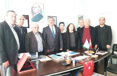 Adana İl Başkanlığımızdan DSP'ye ziyaret