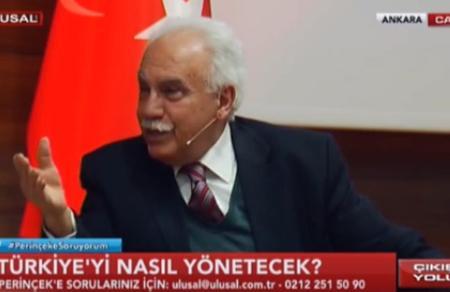 """Doğu Perinçek: """"Seçilince Esad'ı Ankara'ya davet edeceğim"""""""