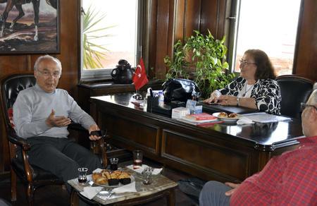 Aytaç Durak'tan Adana İl Başkanlığımıza ziyaret