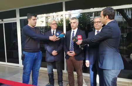 Parti heyetimiz YSK Başkanı Sadi Güven ile görüştü