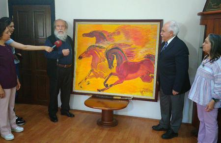 Ünlü Ressam Muharrem Pire: Aydınları Perinçek'e desteğe çağırıyorum