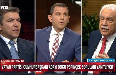 """Doğu Perinçek: """"Gülen, HDP'ye oy verin çağrısı yapıyor"""""""