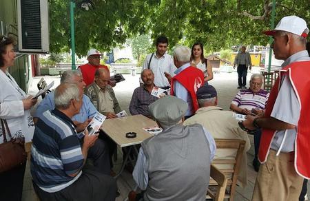 Adana'da seçim çalışmalarımız sürüyor