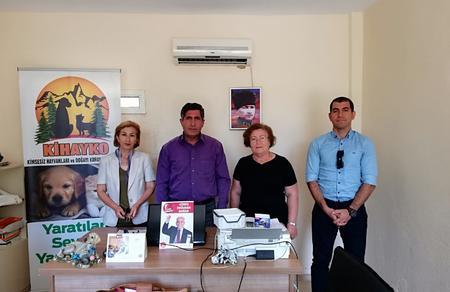 Vatan Partisi'nden KİHAYKO'ya ziyaret