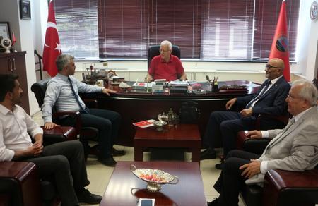 Vatan Partisi'nden Türkiye Emekliler Derneği'ne ziyaret