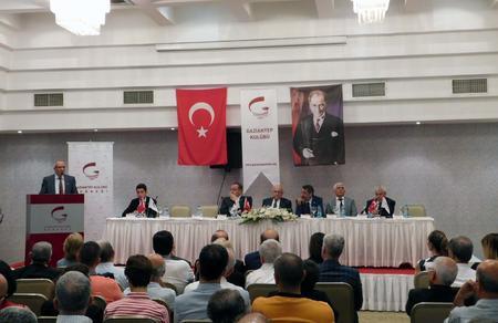 Gaziantep adaylarımızdan Ziraat Odası'na ziyaret