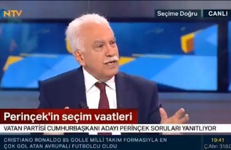 Doğu Perinçek NTV'de