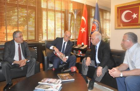 Cumhurbaşkanı Adayımız Doğu Perinçek, Ergün Atalay ile görüştü