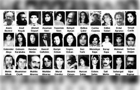 Sivas Katliamının 25. yıldönümünde, yakılan 35 aydınımızı anıyoruz
