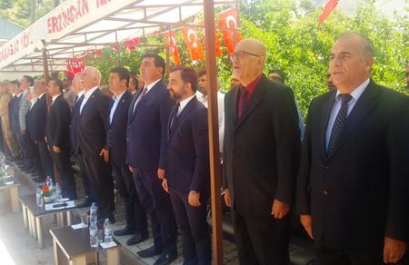 Parti heyetimiz Başbağlar şehitlerini anma törenine katıldı