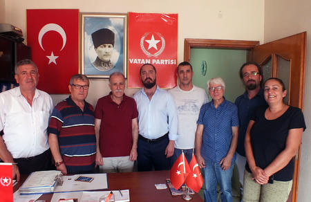 Vatan Partisi'ne katılımlar sürüyor