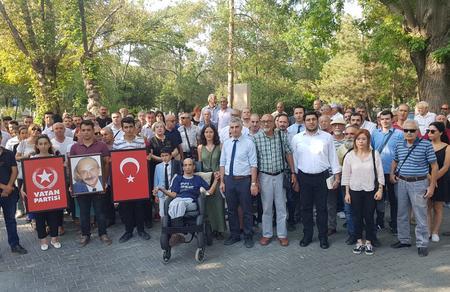 Genel Başkan Yardımcımız Hasan Yalçın'ı mezarı başında andık