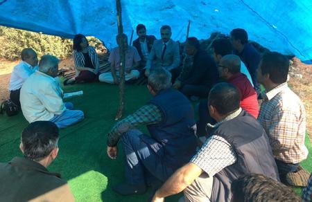 Bursa İl Başkanlığımız, Karaağız Köyü direnişinde