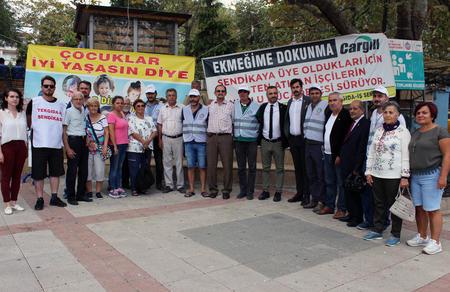 Bursa İl Başkanlığımızdan Cargill işçilerine destek
