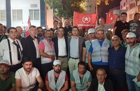 Cargill işçilerinin yanındayız, mücadelede omuz omuzayız!