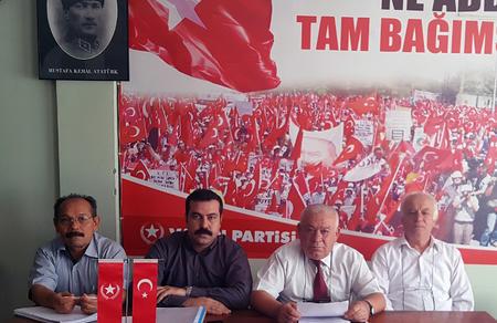 Çözüm halkçı belediyecilikte, çözüm Vatan Partisi'nde!
