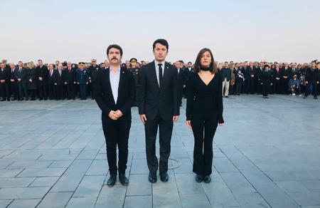 İzmir İl Başkanlığımızdan 10 Kasım anması