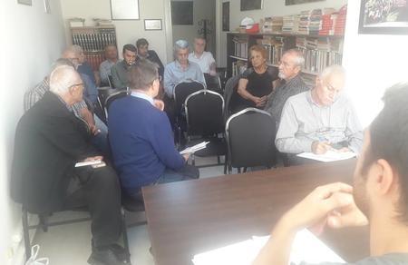 İzmir Mühendis Mimar ve Şehir Planlamacıları Temel Örgütü toplandı