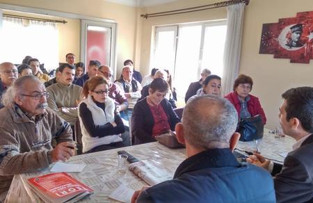Ankara İl Başkanlığımız, Teori Dergisi değerlendirmesi gerçekleştirdi