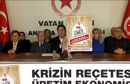 Ankara İl Başkanlığımızdan ekonomik krize karşı kampanya