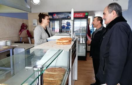 Eskişehir İl Başkanlığımız esnaf ziyaretinde