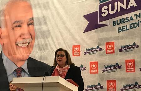 """Suna Soydaş: """"Kozaya sıkışmayan, yaşanabilir Bursa'yı yaratacağız!"""""""