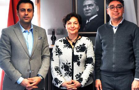 Prof. Dr. Tülin Oygür TMMOB Çevre Mühendisleri Odası'nı ziyaret etti