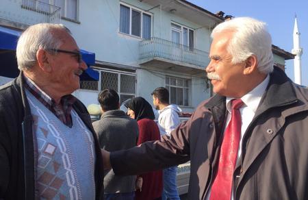 Mustafa Güleç, Honaz'da halkla buluştu