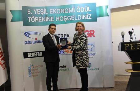 Mustafa İlker Yücel'in 'Mavi İstanbul' projesine 'Yeşil Ekonomi' ödülü!