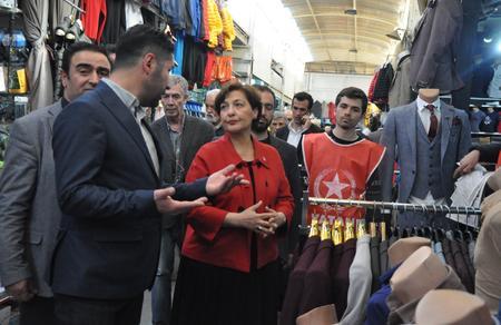 Tülin Oygür: Maltepe Pazarı'nı ranta kurban etmeyeceğiz
