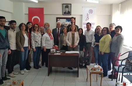 Mustafa Güleç, CKD'yi ziyaret etti