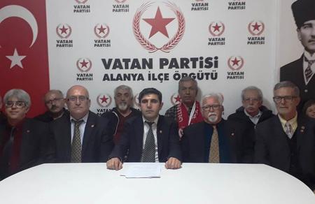Antalya İl Başkanlığımızdan Meral Akşener çıkışı